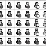 男性汎用 アイコン イラストレータデータ 亞流