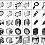 グループウェア関連 アイコン イラストレータデータ 亞流
