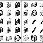 ファイル関連 アイコン イラストレータデータ 亞流