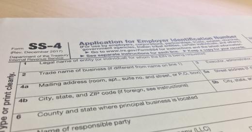 外国人税番号申請書(アメリカ)